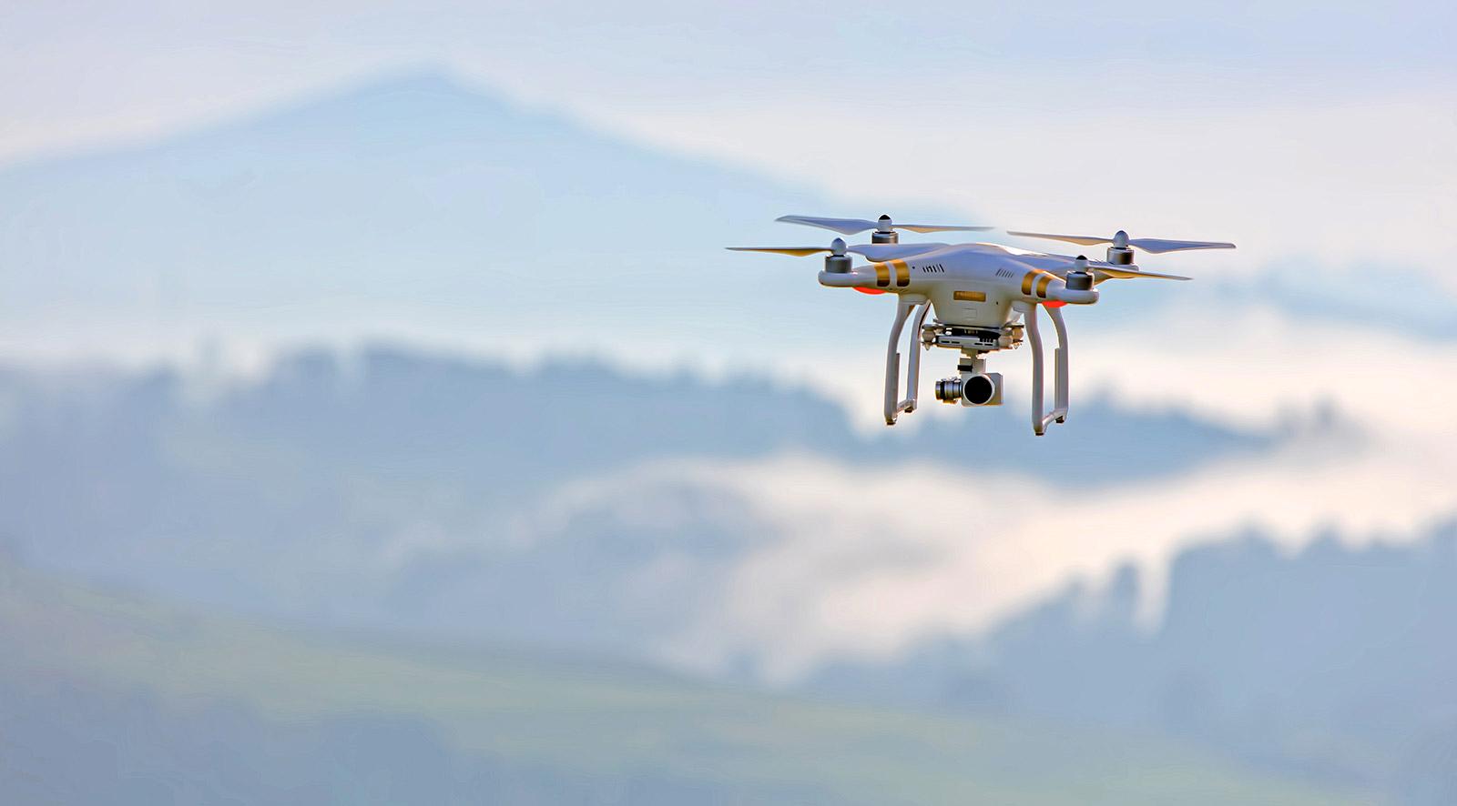Utilisation de mini-drones en soutien aux forces